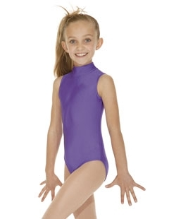 High Neck , keyhole back Leotard