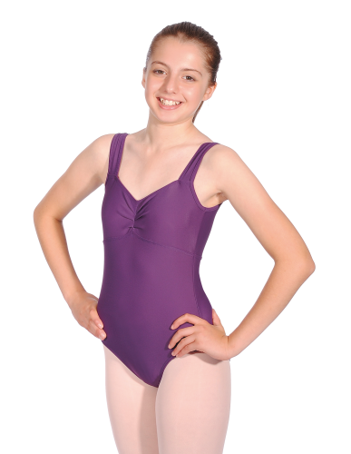 Matt Nylon/Lycra Sleeveless Leotard