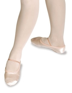 Roch Valley Satin Ballet Shoes, Adult shoe size 3.5 - 8