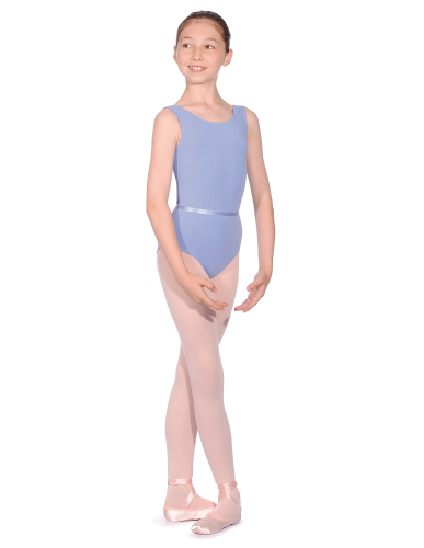ISTD style cotton/lycra sleeveless leotard