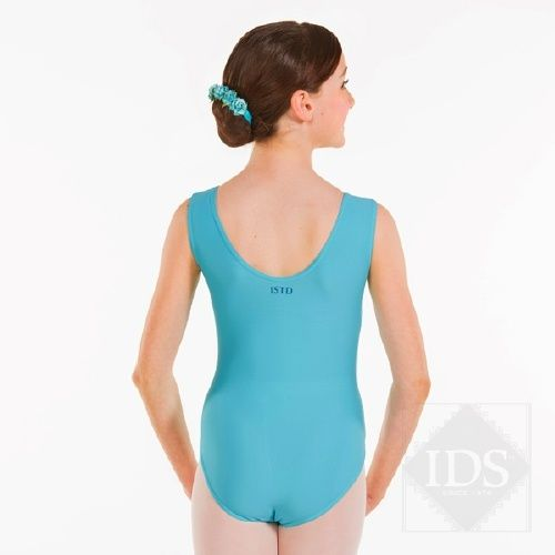 ISTD sleeveless leotard with ruche